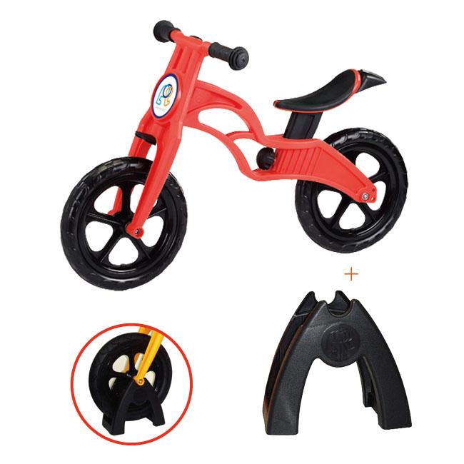 【滑步車51折】POPBIKE 兒童充氣輪胎滑步車- AIR 充氣胎+置車架