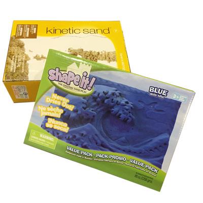 【特賣】《Kinetic Sand》瑞典神奇動力沙-動雕組合 (動力沙5公斤*1+雕刻沙2.2公斤*1)